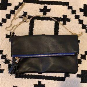 Handbags - Like new black multi pocket crossbody bag purse